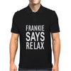 Frankie Says Relax Retro Vintage Mens Polo