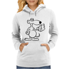 Fred The Mouse Womens Hoodie