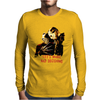 Freddy Krueger and Jason Voorhees Lets Make Bad Decisions Mens Long Sleeve T-Shirt