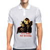 Freddy Krueger and Jason Voorhees Lets Make Bad Decisions Mens Polo