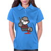 Freddy Krueger Cartoon Ideal Birthday Present or Gift Womens Polo