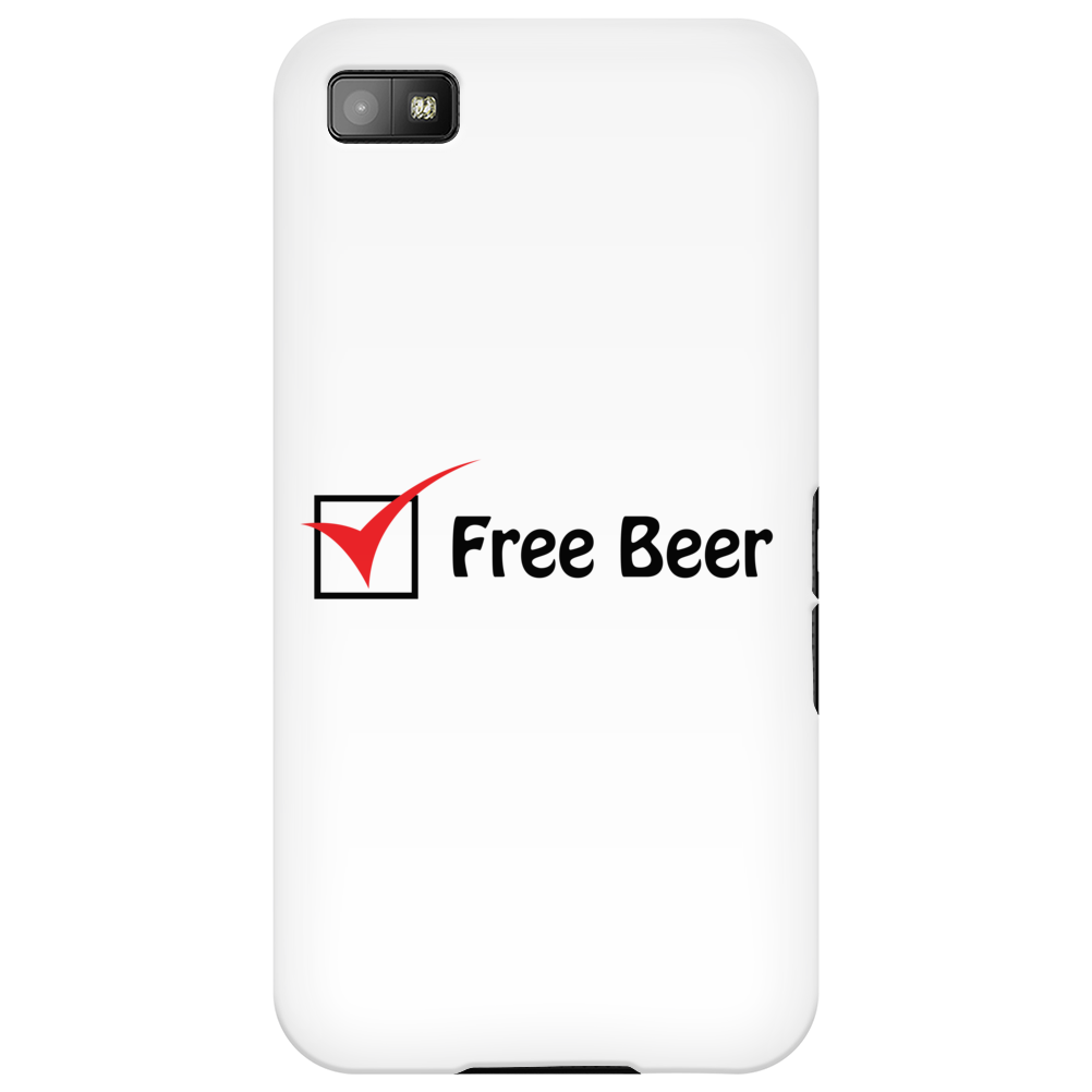 Free Beer Phone Case