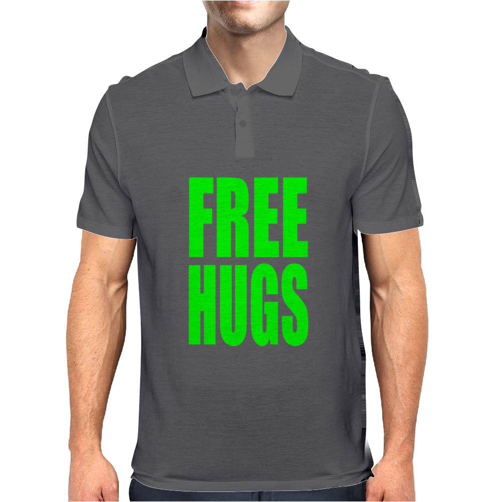 Free Hugs Mens Polo