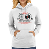 Free-Life-Style Womens Hoodie