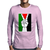 Free Palestine - Peace In Middle East Mens Long Sleeve T-Shirt