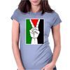 Free Palestine - Peace In Middle East Womens Fitted T-Shirt
