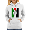 Free Palestine - Peace In Middle East Womens Hoodie