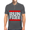 Free Running Parkour Run Free Mens Polo