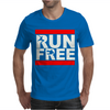 Free Running Parkour Run Free Mens T-Shirt