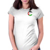 Freedom and Peace for Palestine Womens Fitted T-Shirt