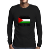 Freedom in Palestine Mens Long Sleeve T-Shirt
