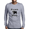 French Bully Mens Long Sleeve T-Shirt