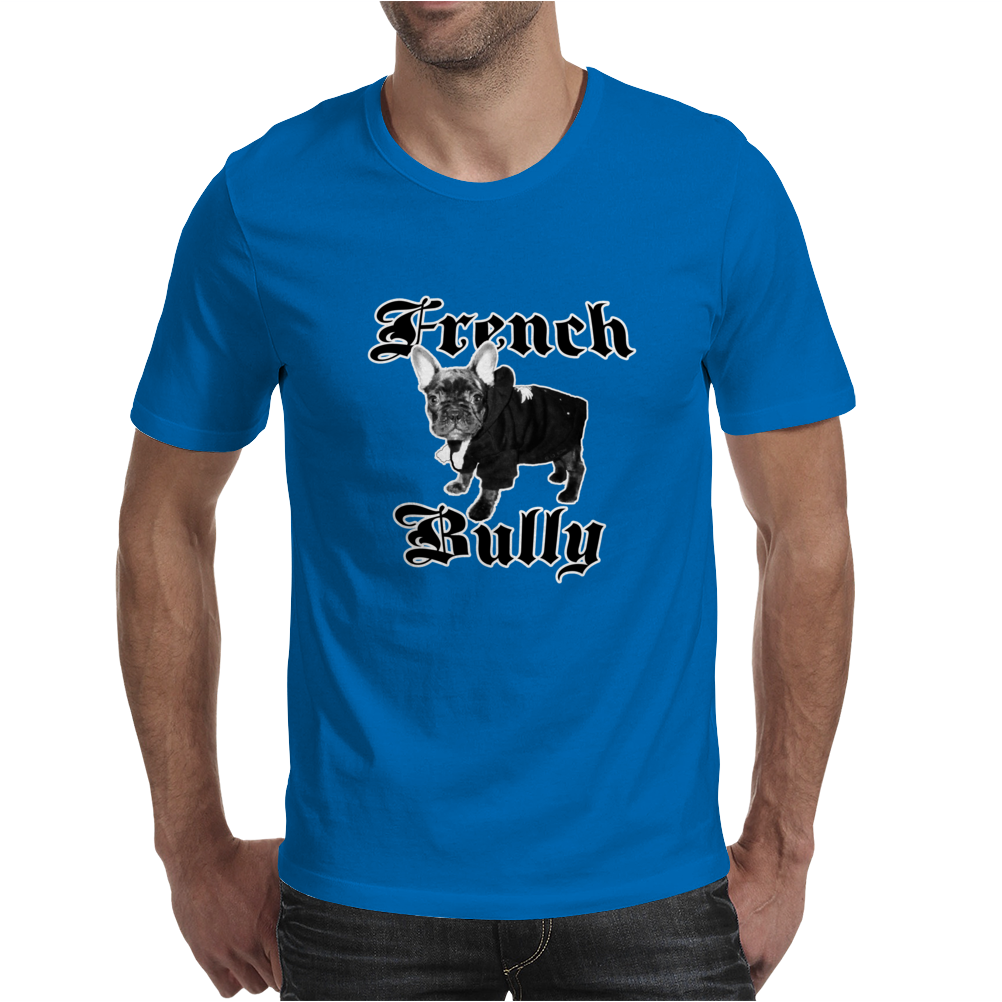 French Bully Mens T-Shirt