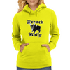 French Bully Womens Hoodie
