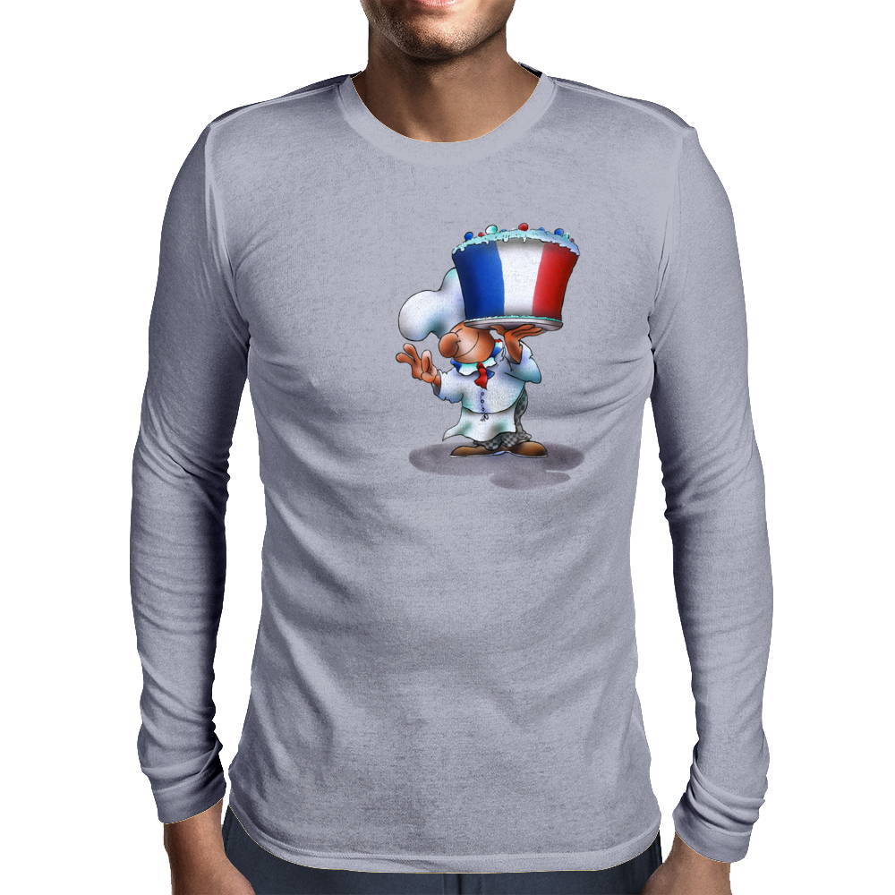 french cook Mens Long Sleeve T-Shirt
