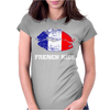 French Kiss Womens Fitted T-Shirt