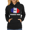 French Kiss Womens Hoodie