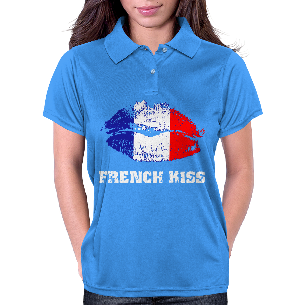 French Kiss Womens Polo