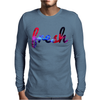 FRESH GALAXY Mens Long Sleeve T-Shirt