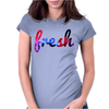 FRESH GALAXY Womens Fitted T-Shirt