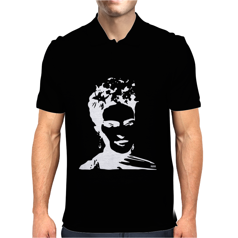Frida Kahlo Mens Polo