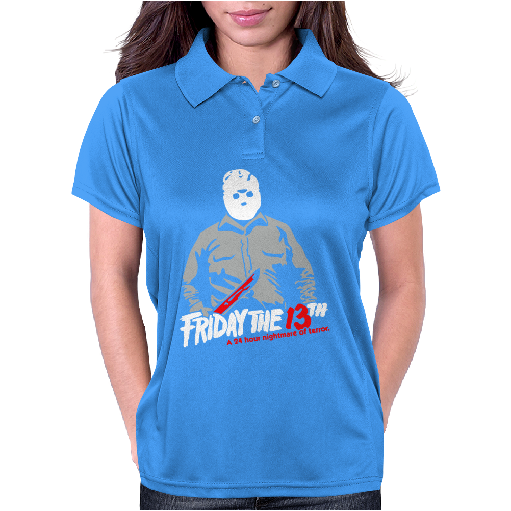 Friday the 13th Womens Polo