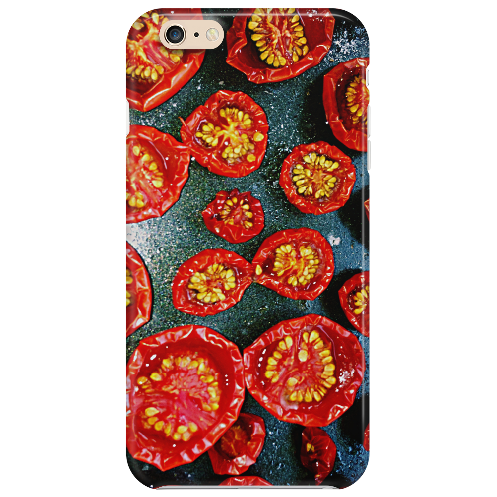 Fried red tomato Phone Case