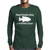 friends and anemones Mens Long Sleeve T-Shirt