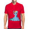 Friendship Is Magic Rainbow Dash Mens Polo