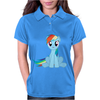 Friendship Is Magic Rainbow Dash Womens Polo
