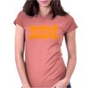 Frisco Slsf Railroad San Francisco Womens Fitted T-Shirt
