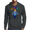 Frisk -  stay determined Mens Hoodie
