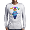 Frisk -  stay determined Mens Long Sleeve T-Shirt