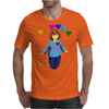 Frisk -  stay determined Mens T-Shirt