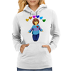 Frisk -  stay determined Womens Hoodie