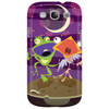 Frog and bird singing Phone Case
