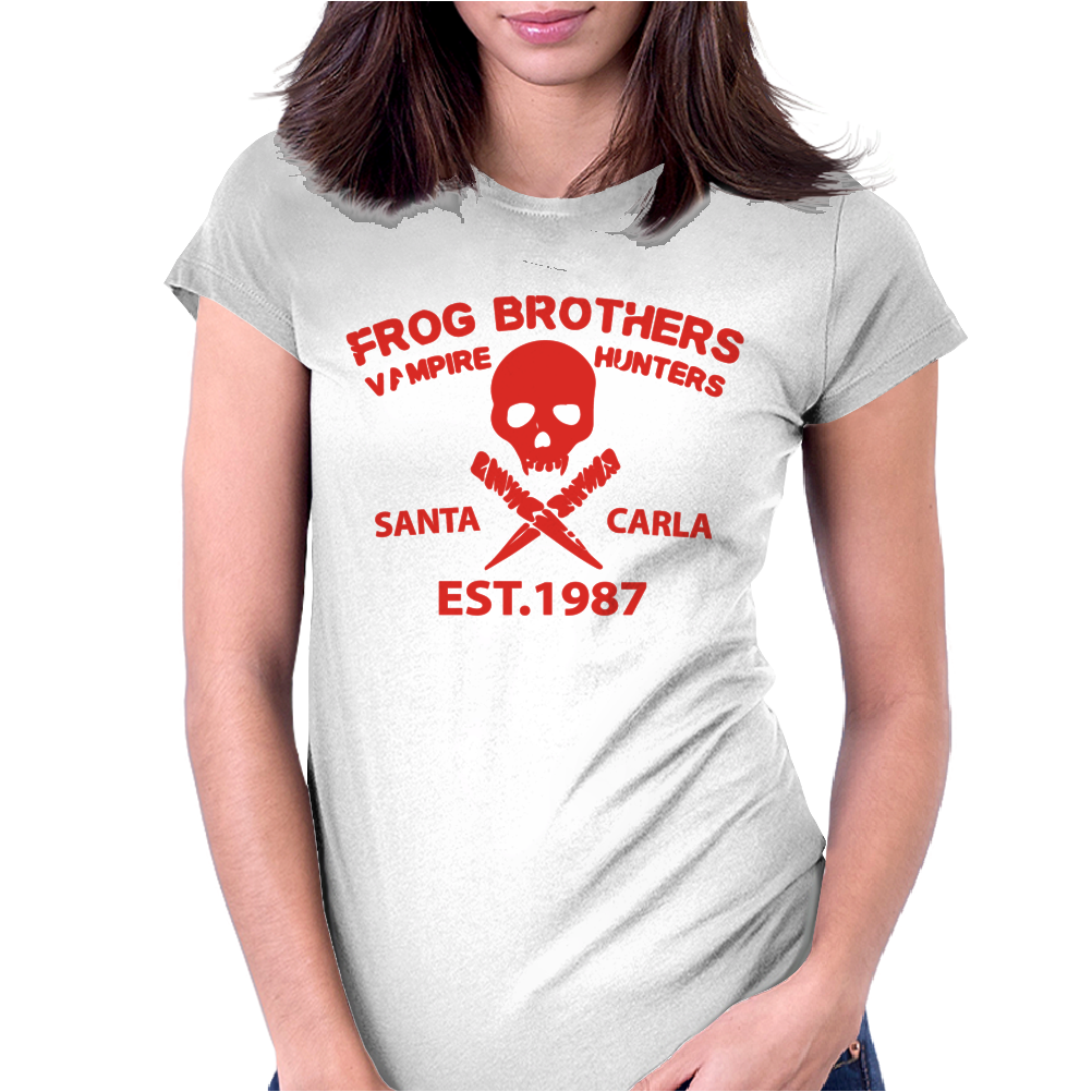 frog brothers Womens Fitted T-Shirt
