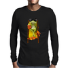 Frog Funny Cocktail Mens Long Sleeve T-Shirt