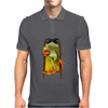 Frog Funny Cocktail Mens Polo