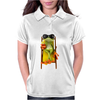 Frog Funny Cocktail Womens Polo