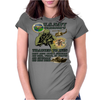 Frogman Seal's Brown Water Navy Hal 3 Design Womens Fitted T-Shirt