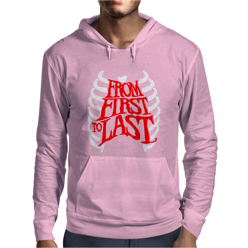 From First To Last Mens Hoodie