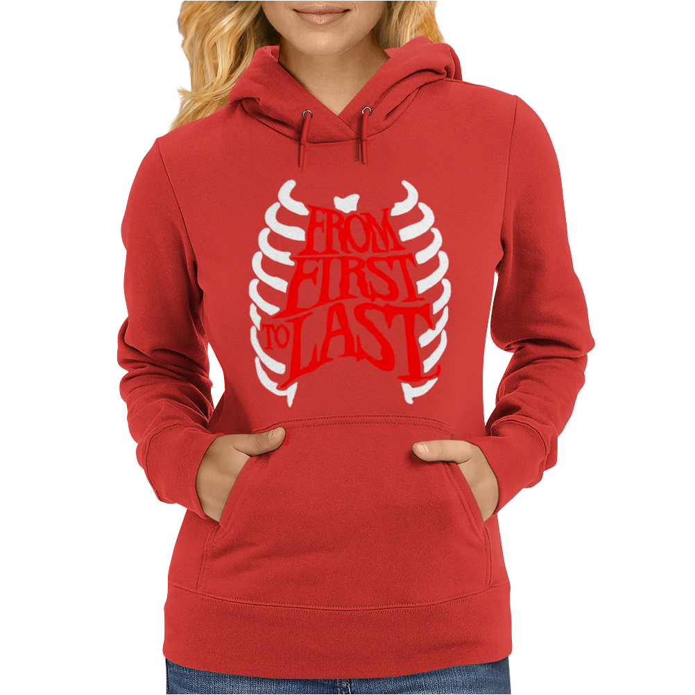 From First To Last Womens Hoodie
