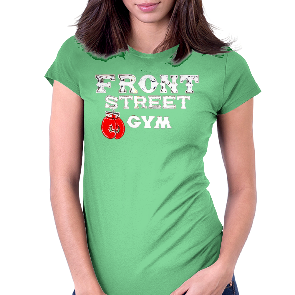 Front street gym - Creed Womens Fitted T-Shirt