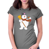 Frosty The Snowman New Sku Womens Fitted T-Shirt
