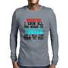 FROZEN Mens Long Sleeve T-Shirt