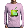 fruit green Mens Long Sleeve T-Shirt
