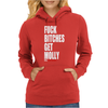 Fuck Bitches Womens Hoodie