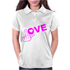 Fuck Love Party Womens Polo