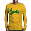 Fuck Police Mens Long Sleeve T-Shirt